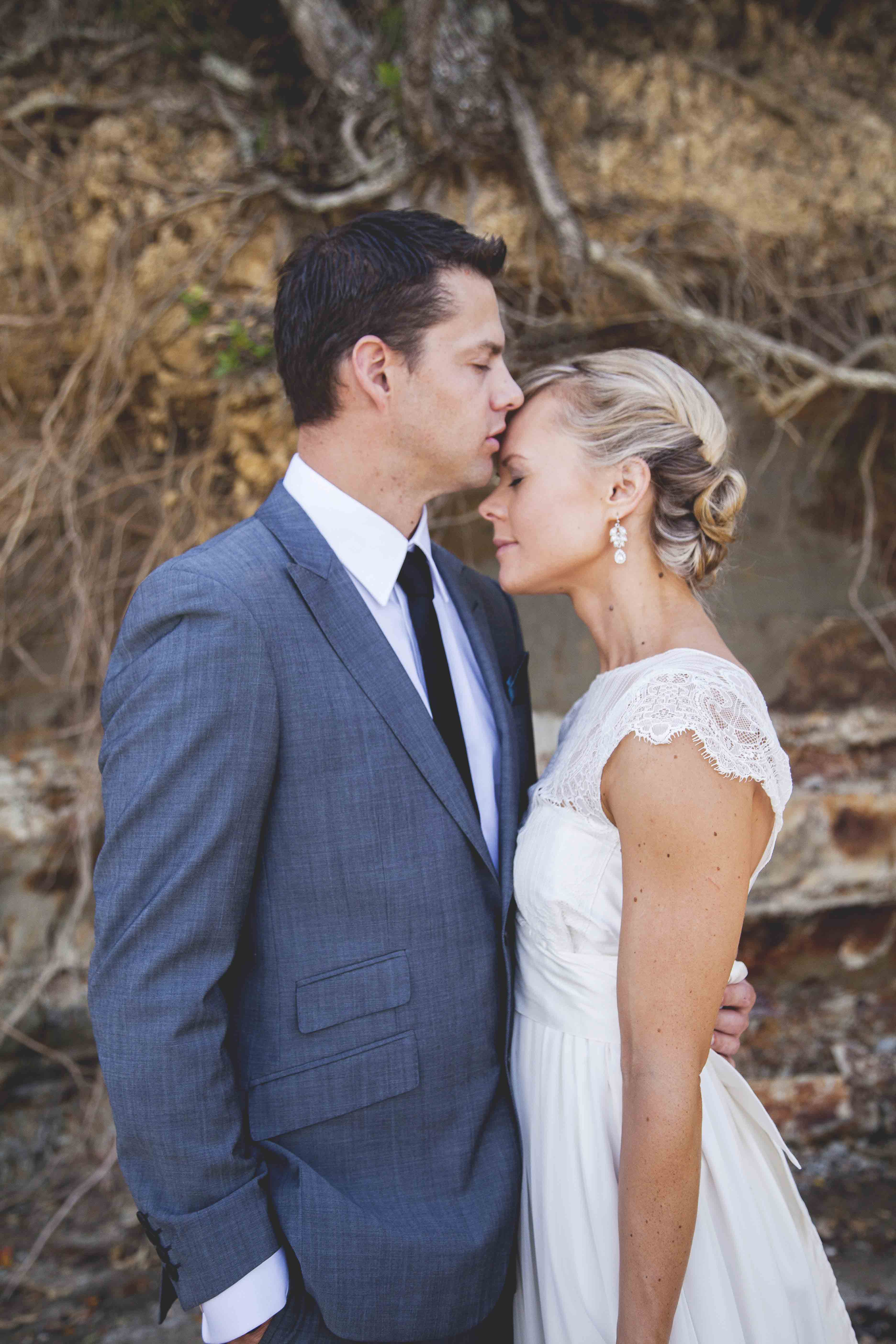 Beach wedding auckland Lucy Rice Photography